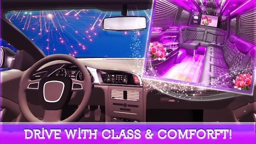 VIP Limo Service - Luxury Wedding Car Driving Sim screenshots 2