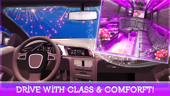 VIP Limo Service – Luxury Wedding Car Driving Sim 1.1.0 Mod + Data for Android 2
