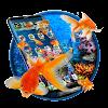 موضوع الذهب السمك السمك 3D APK