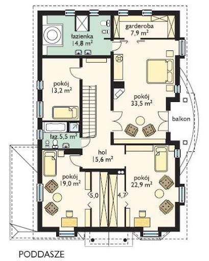 Ambasador - Rzut piętra