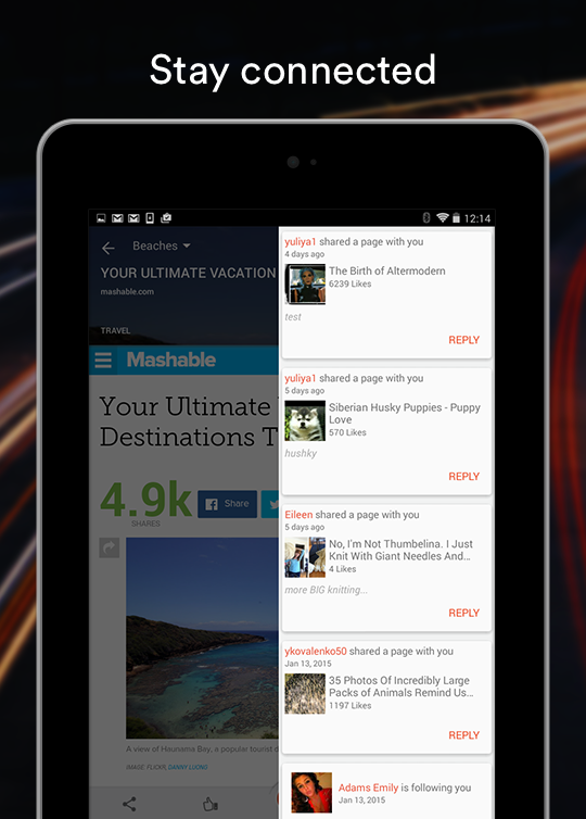 StumbleUpon - screenshot