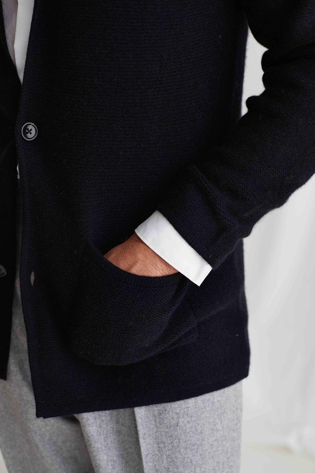 Man Jacket Lapel