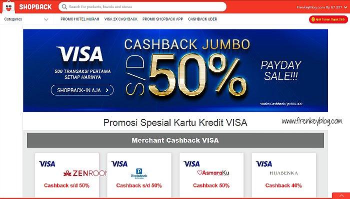ShopBack Promo Visa