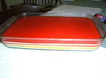 Seven Layer Rainbow Salad