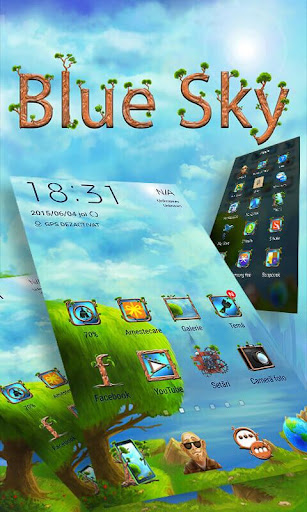 Blue Sky ZERO Launcher
