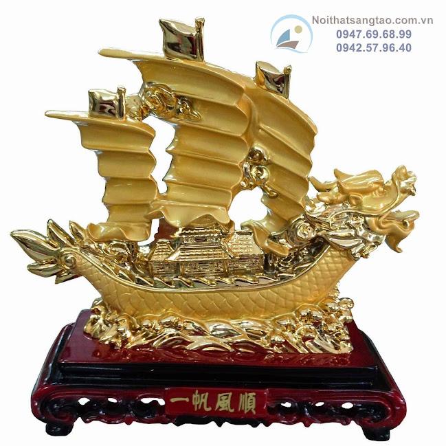 Vật phẩm phong thủy thuyền chở vàng