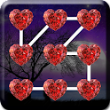 love lock screen pattern code icon