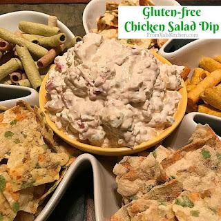 Gluten-free Chicken Salad Dip.