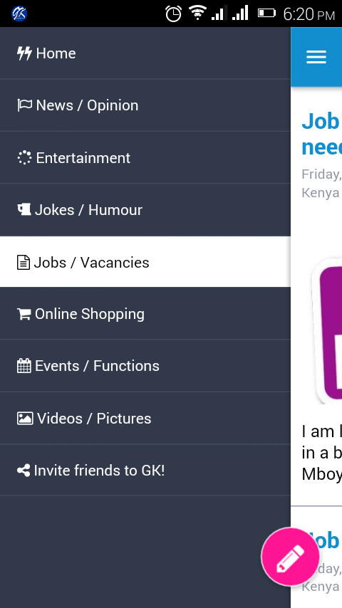 Group Kenya- screenshot