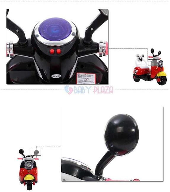 Xe máy điện trẻ em Mickey 6688