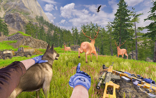 Wild Deer Hunting Adventure :Animal Shooting Games screenshots 12