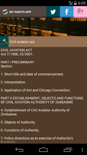 Zimbabwe Laws App  screenshots 8