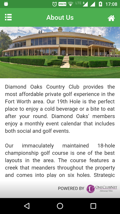 Diamond Oaks Country Club- screenshot