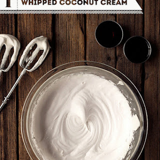 Canned Coconut Cream Recipes