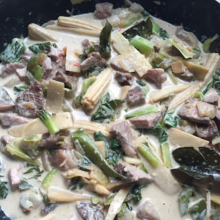 Prime Rib Thai Green Curry