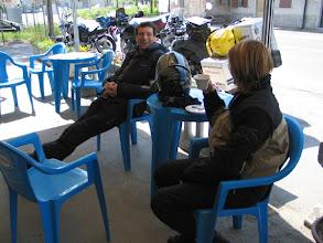 Photo: Kaffeepause. Nachdem wir aber keine Kaffeefahrt machen, ...