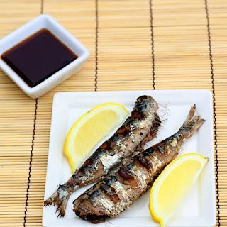 Iwashi No Shioyaki—Salt Grilled Sardines Recipe