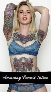 Breast Tattoo My Photo - náhled