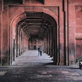 Fatehpur Sikri by Rulie Arifin - Buildings & Architecture Public & Historical ( mughal, old building, india, human interest, architecture,  )
