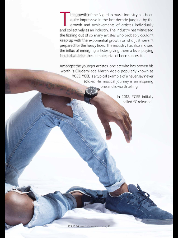 Tush Magazine- screenshot