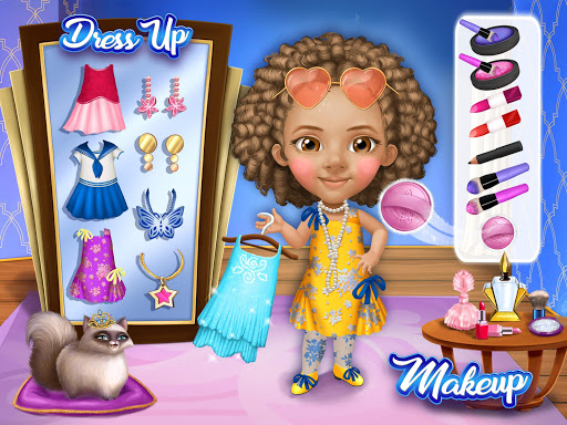 Pretty Little Princess - Dress Up, Hair & Makeup apkpoly screenshots 16