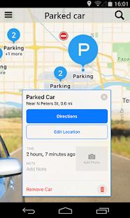 Car Parking Locator: Find My Car By GPS Car Finder - náhled