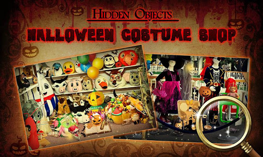 Hidden Objects: Costume Store