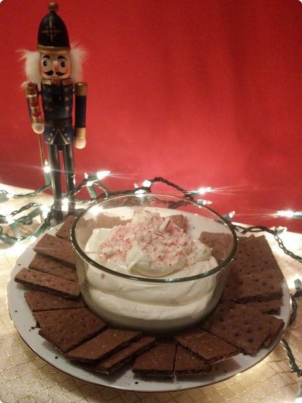 Peppermint Cheesecake Dip Recipe