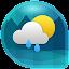 دانلود Weather & Clock Widget for Android اندروید