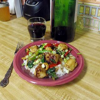 Szechuan Tofu Stir-Fry