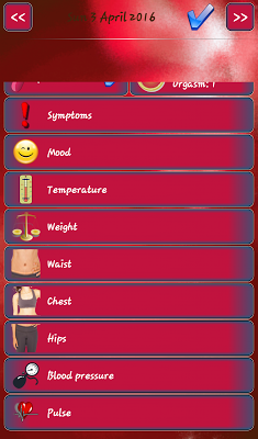 Periods Calendar - screenshot