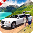 Limousine Taxi Driving Game
