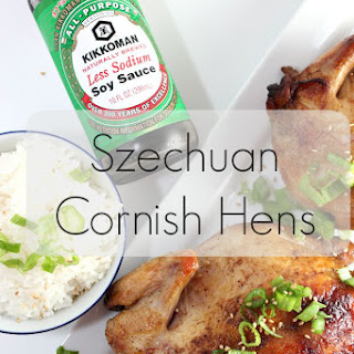 Grilled Szechuan Cornish Game Hens