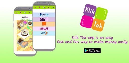 Klik Tak - Make Money Free screenshot 1