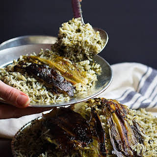 Sabzi Polo (Persian Herb Rice).