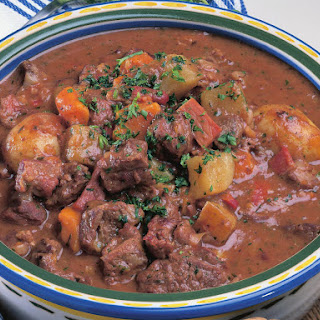 Beef and Three Potato Stew