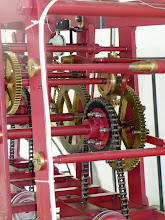 Photo: Detail of the clock mechanism