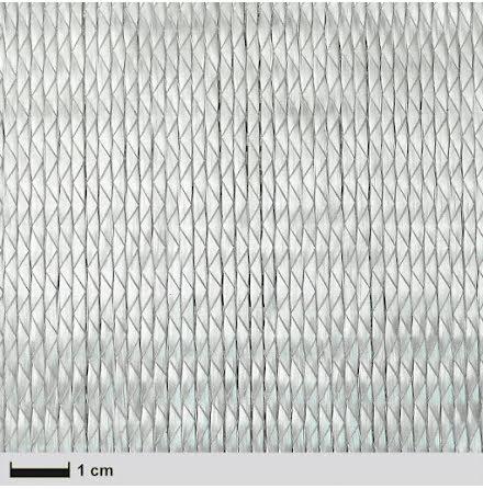 Glasfiberväv 600 g/m² Plain UD bredd 127cm / löpmeter