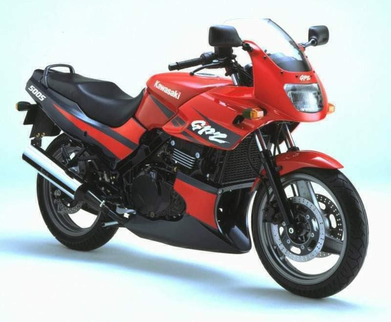 Kawasaki GPZ 500 ninja -manual-taller-despiece-mecanica