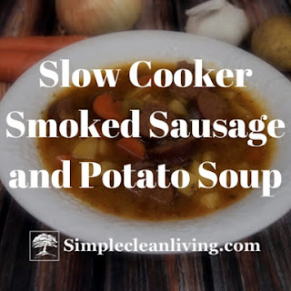 Slow Cooker Smoked Sausage and Potato Soup