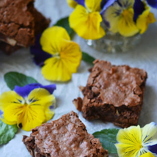 Milk Chocolate Coconut Brownies.