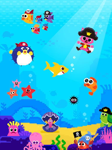 Baby Shark 8BIT : Finding Friends 1.0 screenshots 14
