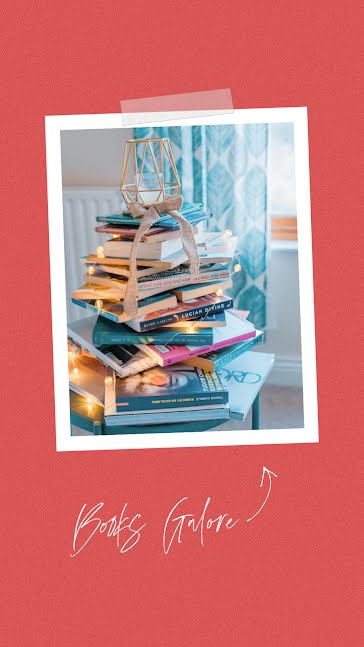 Books Galore - Christmas Template