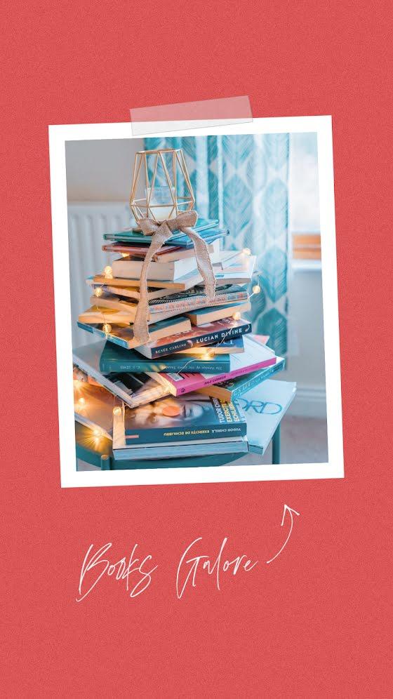 Books Galore - Christmas Template