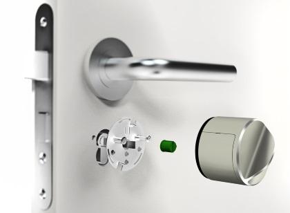 Instalação Danalock V3 bloqueio inteligente bluetooth