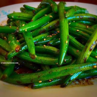 Easy Green Beans Stir-fry