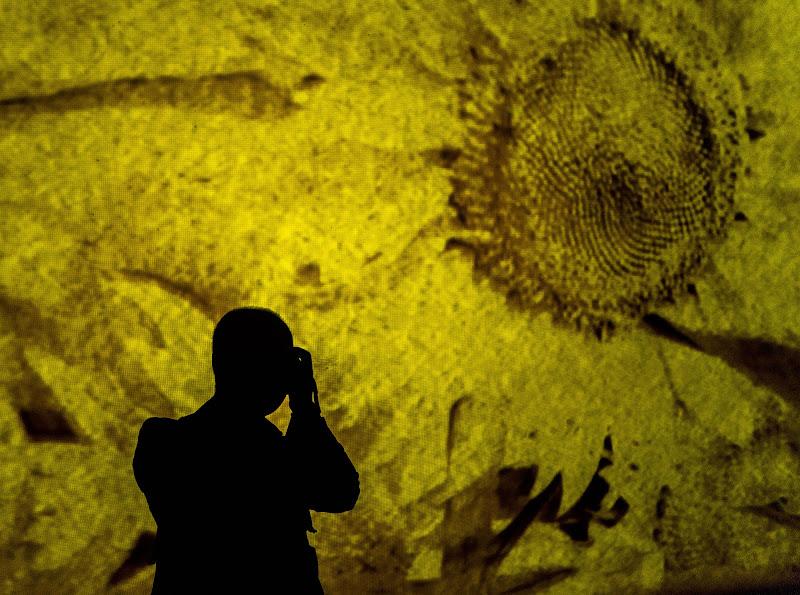 Fotografando Van Gogh di gagi57