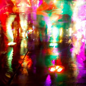 color dancing  by Niloofar Rezaee - People Group/Corporate