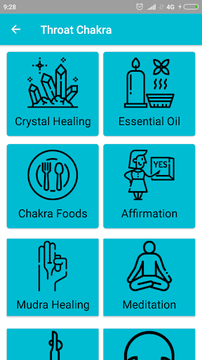 Throat Chakra Healing App Report on Mobile Action - App