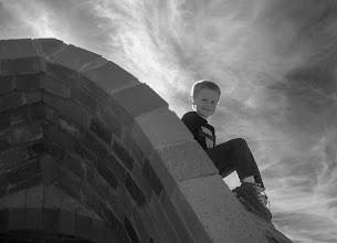 Photo: Boy at CalEarth